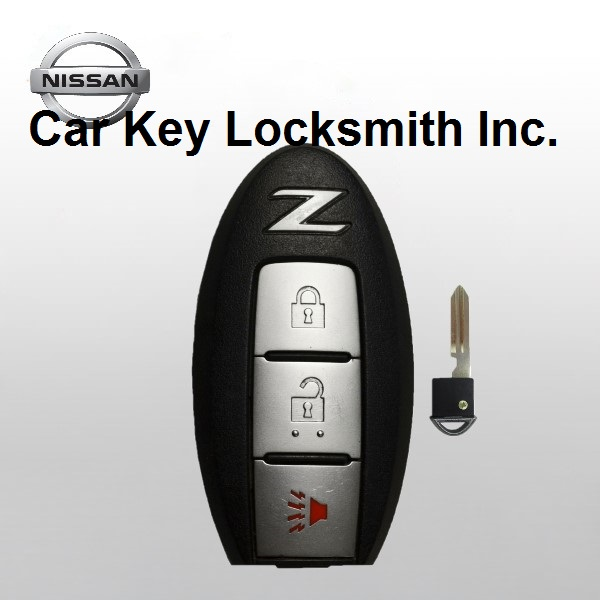 2009-2010-2011-2012-2013-2014-2015-2016-2017 Nissan 370Z Smart Key 3-Button FCC ID KR55WK49622