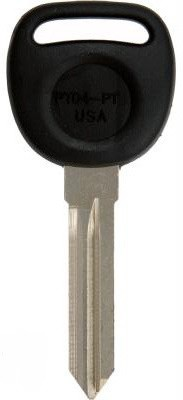 GM PK3 Z Keyway Transponder Key PT04-PT