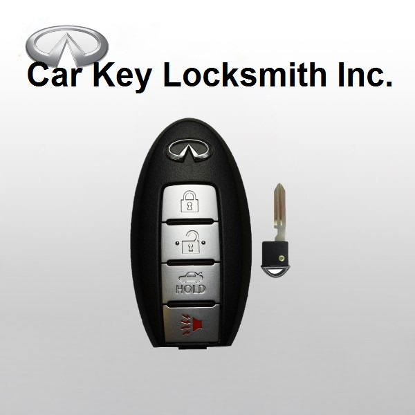 Infiniti G35 2005-2007 Proximity Smart Key 4-Button FCC ID CWTWBU624 KBRTN001