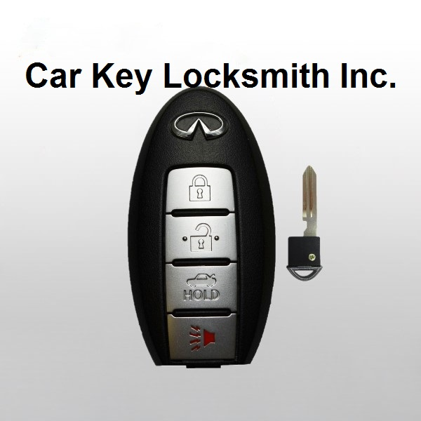 Infiniti Q50 2014-2015 Proximity Smart Key 4-Button FCC ID KR5S180144203