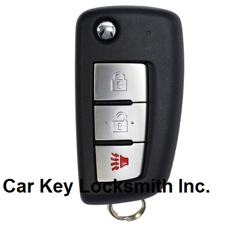 Nissan Rogue 2014-2015-2016-2017-2018 Flip Key 3-Button Remote FCC ID CWTWB1G767